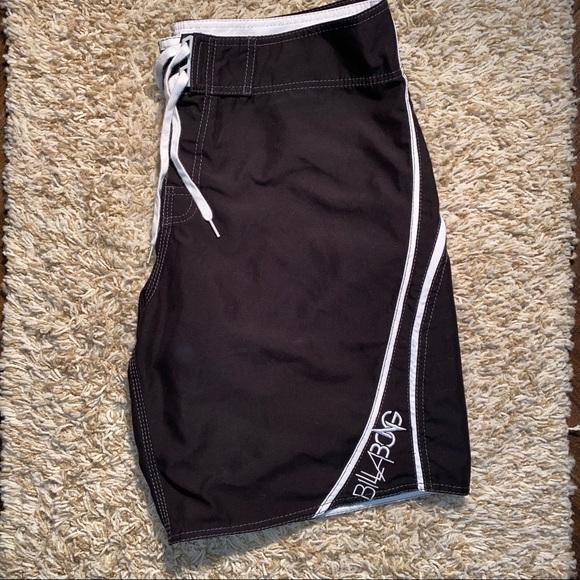 Men's Billabong Black Swim Trunk Board Shorts